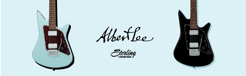 Sterling by Music Man Albert Lee Signature Guitar