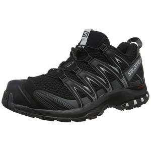 Salomon XA Pro 3D, Zapatillas de Trail Running para Hombre, Negro (Black/Magnet/Quiet Shade), 46 EU: Amazon.es: Zapatos y complementos