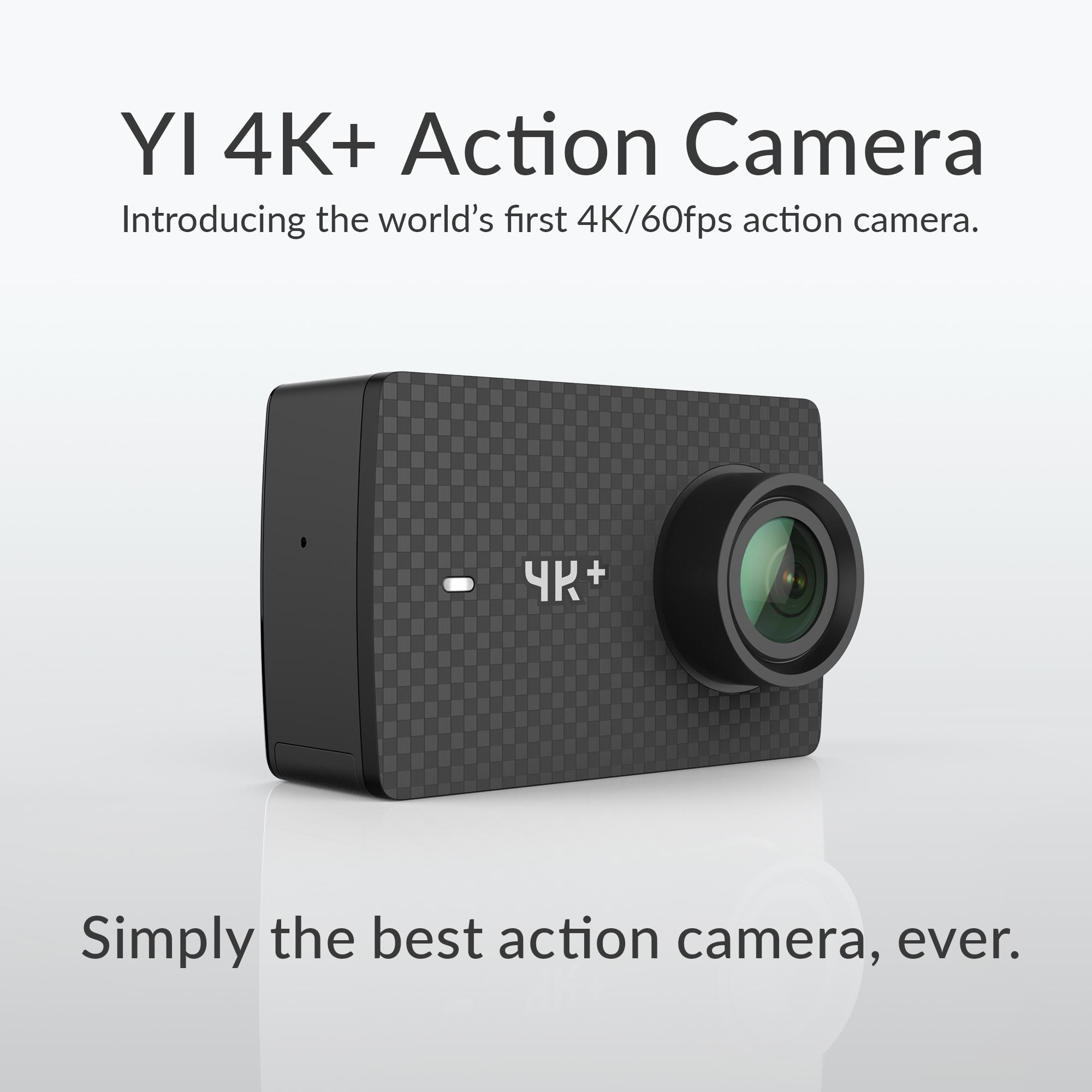 yi 4k 60fps action camera with waterproof. Black Bedroom Furniture Sets. Home Design Ideas