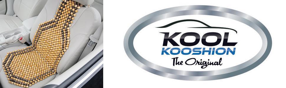 Kool Kooshion 60-2930 Wood Beaded Seat Cushion