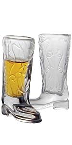 cowboy boot shot glass drinking glasses glassware