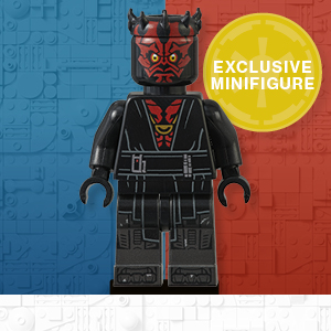 Includes an exclusive minifigure
