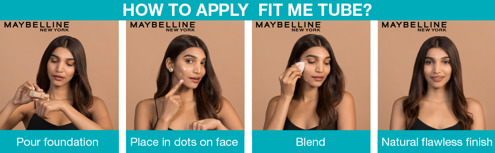 FIT ME FOUNDATION MAYBELLINE NEW YORK