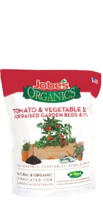 organic potting soil for tomatoes vegetables