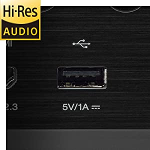 Denon AVR-S750H Hi-Res Audio