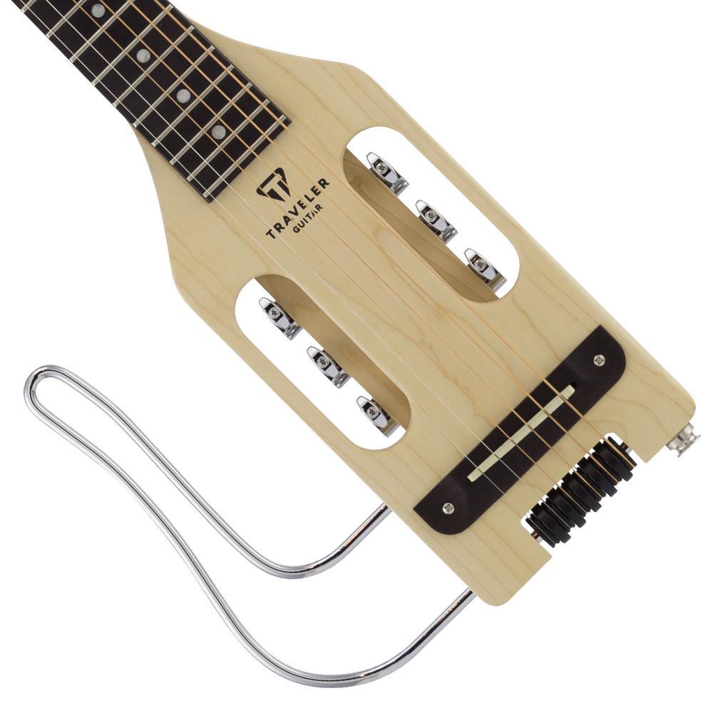 traveler guitar ultra light lefty acoustic electric travel guitar with gig bag. Black Bedroom Furniture Sets. Home Design Ideas