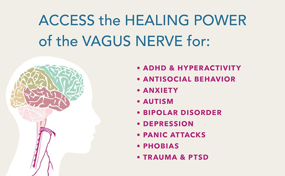 vagus nerve, vagus nerve for anxiety, self-help vagus nerve, vagus depression, what does vagus heal