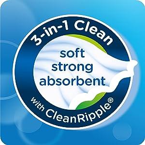Kleenex 3 in 1 clean