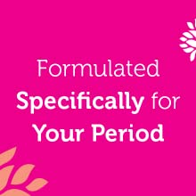 formulated specifically for your period