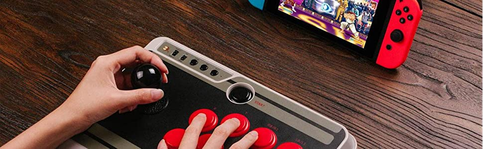 Amazon.com: 8Bitdo N30 Arcade Stick / Fight Stick for