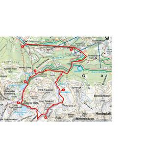 Rother Wanderführer Karte Tourenbeschreibung Wanderkarte