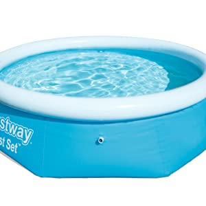 Bestway FastSet Pool Set Piscina Desmontable Autoportante, 244x66 cm: Amazon.es: Juguetes y juegos