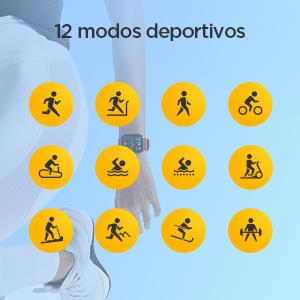 12 modos deportivos