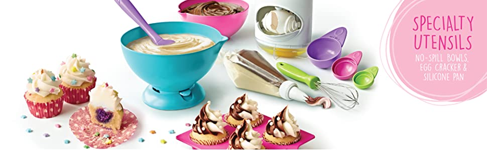 Amazon.com: Real Cooking Ultimate Baking Starter Set - 37 Pc. Kit Includes Sprinkles, Cake