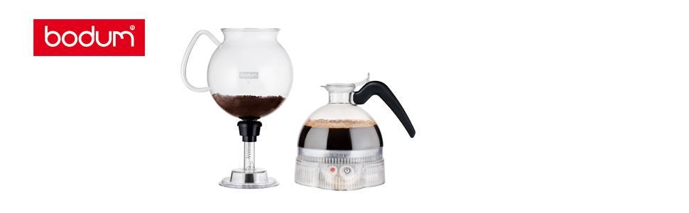 electric vacuum coffee naker