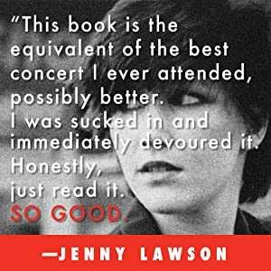 Jenny Lawson, Furiously Happy, Kathy Valentine, The Go Gos, The Go-Go's, music memoir, rock n roll