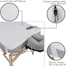 massage table warmer; table warmer; heating pad