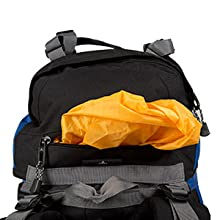 Sewn-in Rainfly is easy to access when ever you may need it.