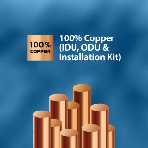 100% Copper