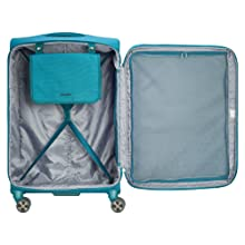 delsey paris luggage hyperglide interior