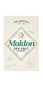 original Maldon all natural Sea Salt Flakes clean taste