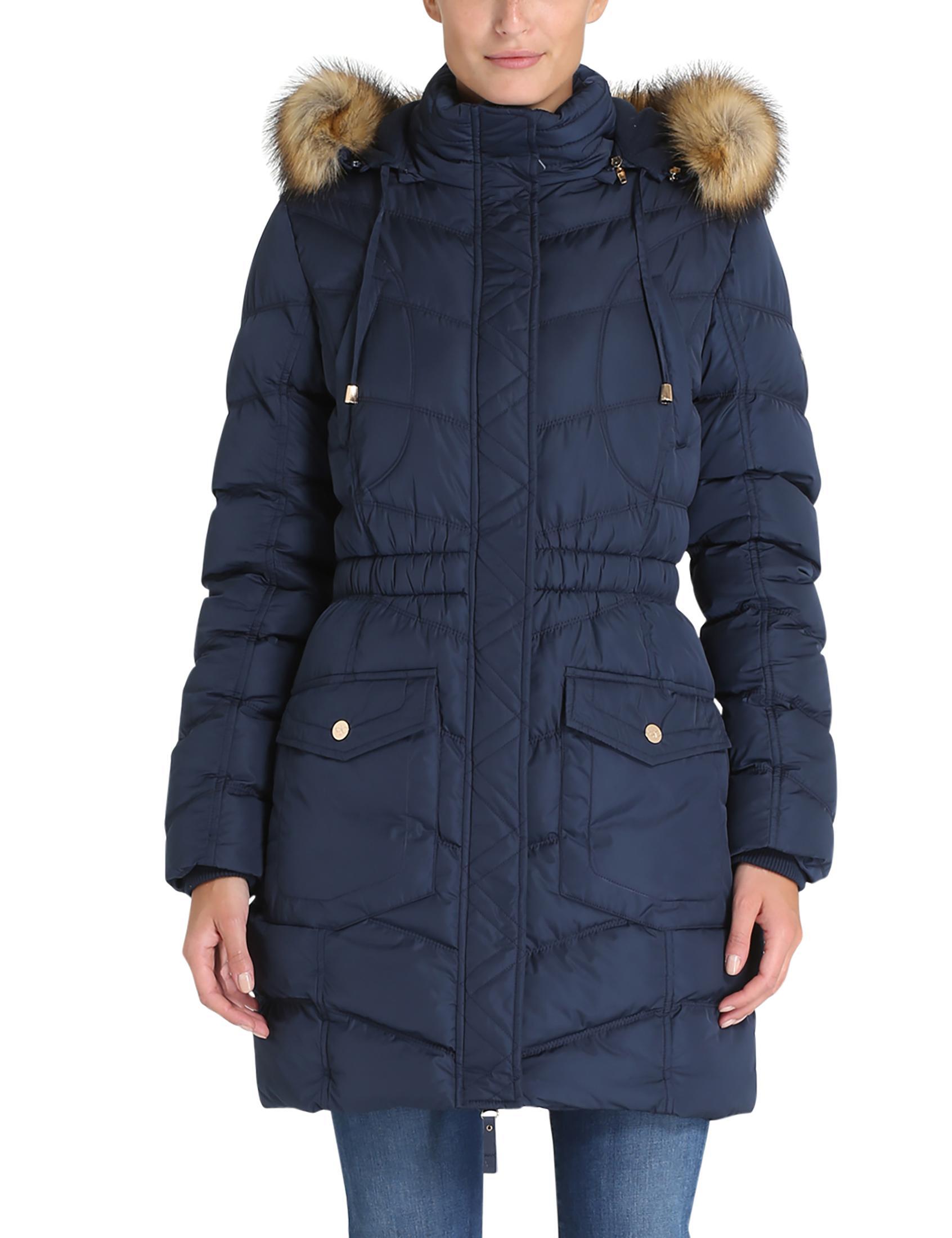 Berydale Women's Winter Coat, Navy, XL: Amazon.co.uk: Clothing