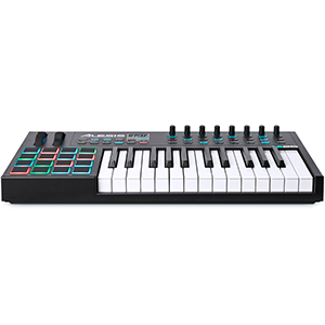 diseñado para integrarse  con tu software de música ALESIS NOVATION controlador MIDI CON SOFTWARE