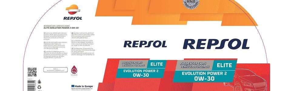 REPSOL ELITE EVOLUTION POWER 2 0W-30