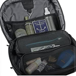 b4463b74bc59 Amazon.com   Burton High Maintenance Kit Travel Bag Mens Sz 8L ...