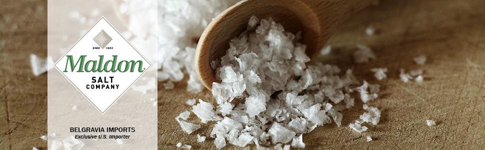 Maldon Salt Company Belgravia Imports Seasoning with Substance
