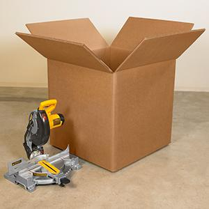 BOX USA BHD161212DW Double Wall Boxes Kraft Pack of 15 16L x 12W x 12H