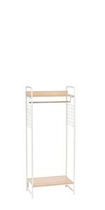 Etagère style industriel en bois et métal Garment Rack par Iris Ohyama