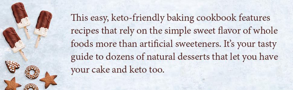 ketogenic diet, keto dessert cookbook, keto desserts, keto dessert book, keto dessert recipes