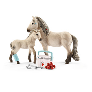 first aid kit, schleich first aid kit; schleich horse club