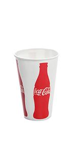 Karat 12oz Paper Cold Cups - Coca Cola (84 mm)
