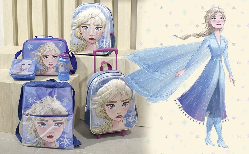 Cerdá - Estuche Plumier Triple con Rotuladores Giotto de Frozen 2 con Lentejuelas - Licencia Oficial Marvel Studios®: Amazon.es: Ropa y accesorios