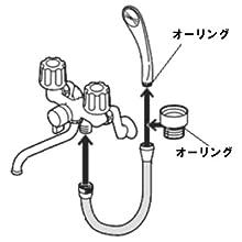 三栄水栓製作所(SAN-EI) シャワーホース PS30-86TXA