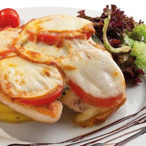chicken, mozzarella