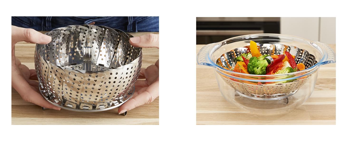 Moulinex Steam'up Cuiseur Vapeur panier vapeur cuisine saine et gourmande