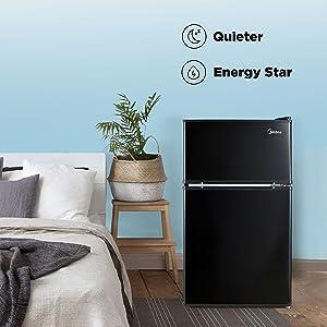 Quieter & Energy Saving