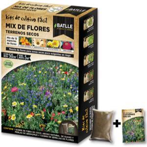 Huerto Urbano - Mix de flores Terrenos secos - Batlle: Amazon.es ...