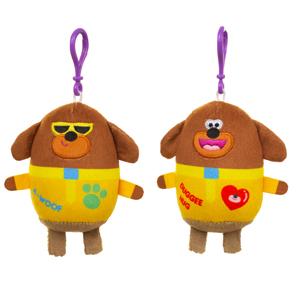 Hey Duggee Clip-On Soft Plush Toy-duggee Hug