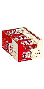 KitKat White – Klassischer Schokoriegel mit weißer Schokolade