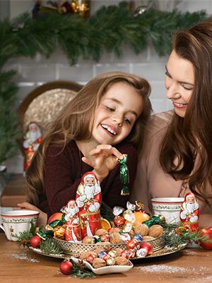 Fröhliche Festtage mit der ganzen Familie und Lindt