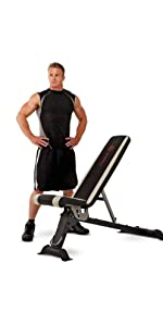 Marcy Multi Purpose Adjustable Utility Bench For Full Body