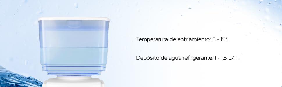 Orbegozo DA 5525 Dispensador de Agua Fría, 65 W, 7 litros, Blanco: Orbegozo: Amazon.es: Hogar