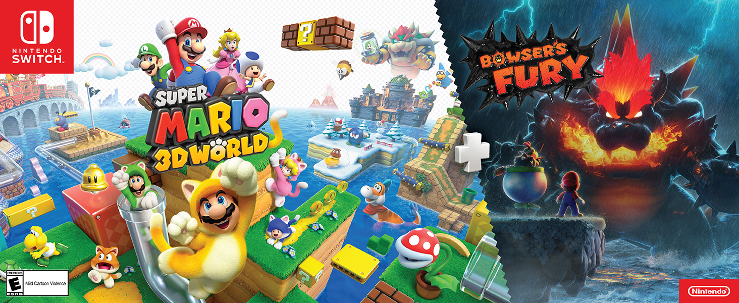 Super Mario 3D World and Bowser's Fury!