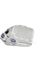 Sure Catch Youth Softball Glove, 12 inch, Right Hand Throw