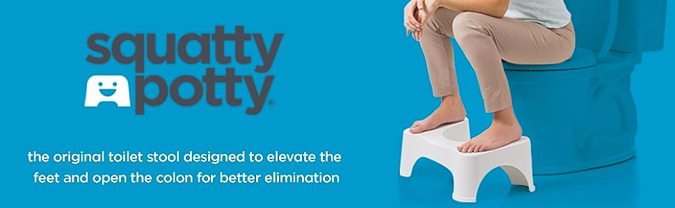 Amazon Com Squatty Potty Porta Squatty Foldable Toilet