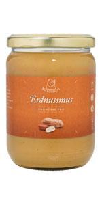 Eisblümerl Bio Erdnussmus im 250g und 500 g Glas